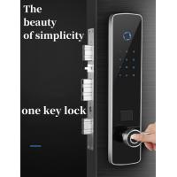 Buy cheap Stainless Steel Panel Intelligent Door Lock With Tempered Glass Screen from Wholesalers