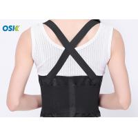 China Pain Relief Lower Back Belt , Lumbar Spine Support Brace OEM Service Provided factory