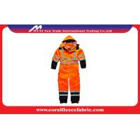 China Waterproof Flame Retardant Workwear Safety Coverall With Reflective Stripe EN471 factory