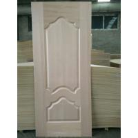 China 5 - 10% Moisture HDF Door Skin High Durabiloity Wood Veneer Door Skin on sale