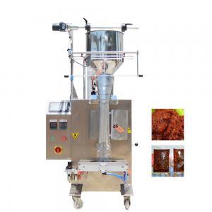 China Pillow Seal Honey Sachet Packing Machine , Vertical Liquid Packing Machine factory
