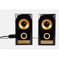 China 10W Wooden Sound Bass Computer Speakers High End Loud For Music on sale