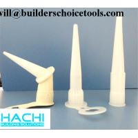 China plastic cap and nozzle for 310ml 10.3oz and 9 inches silicone sealant factory
