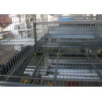 Buy cheap Reliable Layer Poultry Farming Equipment / Egg Laying Chicken Cages from wholesalers