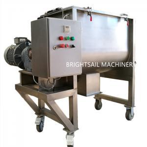 China Dry Food Powder Ribbon Blender Machine Detergent Industrial Flour Mixing Machine on sale