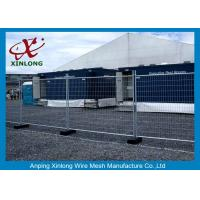 China Flexible Green Temporary Fencing Panels / Temporary Security Fence Panels Durable on sale