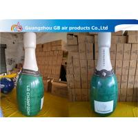 Buy cheap Promotional Pvc Inflatable Champagne Bottle / Inflatable Beer Bottle For Sale from wholesalers