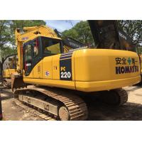 Buy cheap 2009 Year 22 Ton Second Hand Diggers Komatsu PC220 - 7 With High Performance from Wholesalers