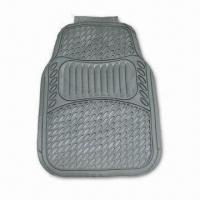China Car Mat, Available in Beige, Black, or Gray Color, Made of PVC factory