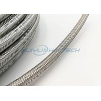 Buy cheap Abrasion Resistant Stainless Steel Braided Sleeving For Wire Strong Protection from Wholesalers