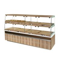 Buy cheap High End Glass Bakery Display Cases Non Refrigerated Non Toxic Materials from Wholesalers