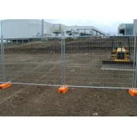 Buy cheap Hot Dipped Galvanized Wire Mesh Fence Removable Temporary Fence from Wholesalers