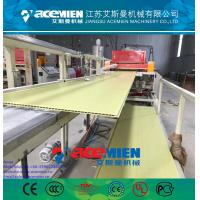 China PVC ceiling panel extrusion machine plastic wall board extrusion line factory