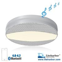 New product 120VAC 1000LM 12W Ceiling LED Bluetooth Speaker Light