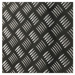 China Anti Skidding Flooring 2mm 3mm 3003 Aluminium Checkered Sheet factory