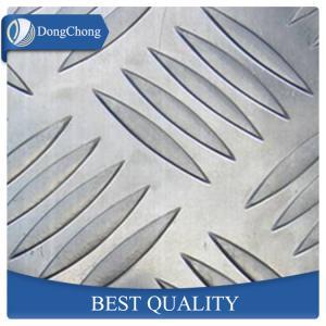 China Al - Mg 3000 Series Diamond Embossed Aluminum Sheet 1mm Thickness factory