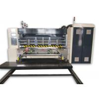 Buy cheap Fully Automatic Corrugated Cardboard Production Line Printer Slotter Machine from Wholesalers