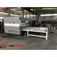 Buy cheap Chain Feed Printer Slotter And Die Cutter Machine High Working Efficiency from Wholesalers