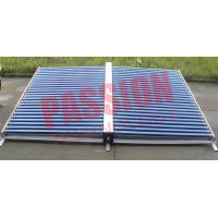 Buy cheap 50 Tubes Vacuum Tube Solar Collector Stainless Steel Manifold For Project from Wholesalers