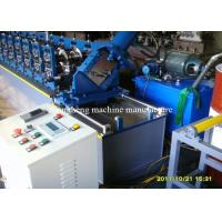 Buy cheap Adjustable Steel Frame Roll Forming Machine 22 Stations With 45 Degree Cutter from wholesalers