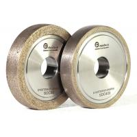 Buy cheap Refractory Diamond Metal Bond Grinding Wheels With Round Edge For Glass from wholesalers