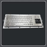 China Tamper Resistant Usb Keyboard With Touchpad Stainless Steel Material 71 Keys Type on sale