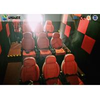 China Shuqee 5D Theater System Low Energy Fresh Experience For Entertainment Places factory