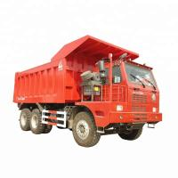 Left Hand Driving Mining Dump Truck Heavy Concentrated Engineering Design