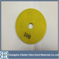 Buy cheap For Marble Granite Concrete Terrazzo Polishing Velcro Diamond Floor Polishing Pads from Wholesalers