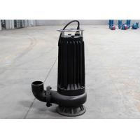 Buy cheap Black 4hp Cutting Submersible Sewage Pump 7 - 15m Head Automatic Mixing Device from wholesalers