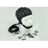 Customized Channel EEG Skull Cap , Clinical EEG Hat 2 Different Material