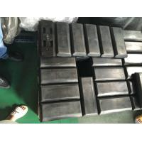 China Bolt On Black Hard Quality Rubber Track Pads 300-2/300-4 For Pavers factory