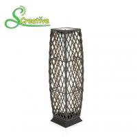 Buy cheap PE Rattan Wicker Outdoor Solar Lights LED Lamp For Landscape Lighting Decorative from Wholesalers