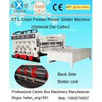 China Corrugated Cardboard Flexo Printer Slotter Machine with 3000mm Inboard Width factory