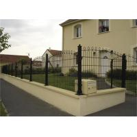 China Outdoor PVC Coated 3D Wire Mesh Fence / Welded Garden Fence Panels on sale