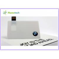 Buy cheap Custom High Speed Credit Card USB Storage Device USB 2.0 Flash Drive from Wholesalers
