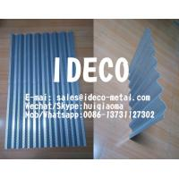 China Punched Hole Screen, Perforated Corrugated Metal Panels for Roofing/Siding/Sunscreen/Fences/Acoustical Wall on sale