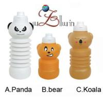 Cartoon sports water bottle for children