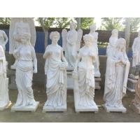 China Indoor grace lady marble sculptures park marble stone statues ,China stone carving Sculpture supplier factory