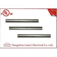 1-1/2 inch UL Listed EMT Electrical Metallic Tubing  Steel Electrical Conduit Outdoor Hot Dip Galvanized White Colore