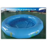 China Round Kids Inflatable Swimming Pool For Water Game Acceptable Logo Printing factory