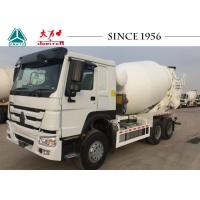 Buy cheap Durable Heavy Duty Concrete Mixer , HOWO Mixer Truck With Euro II Engine from wholesalers