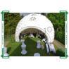 Wedding Inflatable Igloo Tent , White Blow Up Igloo Tent Waterproof