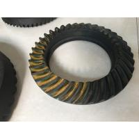 Buy cheap NISSAN Spiral Bevel Gear Crown Wheel Pinion Big Diameter 20CrMnTiH Material from Wholesalers
