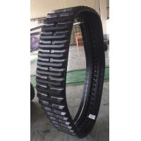 China Black Dumper Rubber Tracks Adjustable Size With 1 Year Warranty factory