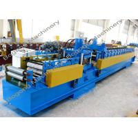 Buy cheap Pre - Punching C Purlin Roll Forming Machine With Cr12 Steel Blade Heavy Duty from Wholesalers