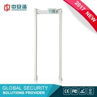 Buy cheap High Sensitivity Door Frame Metal Detector Multi Zone With PC Network Function from wholesalers