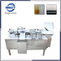 China Automatic Pesticide glass ampoule bottle fill and seal machine with 6 filling heads factory