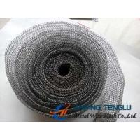 China Stainless Steel/Nickel/Monel Wire, 140-400 Model, 0.1-0.3mm Wire Knittted Wire Mesh factory