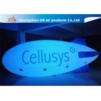 Buy cheap Safe And Environment Inflatable Helium Airplane , Inflatable Zeppelin Balloon from Wholesalers